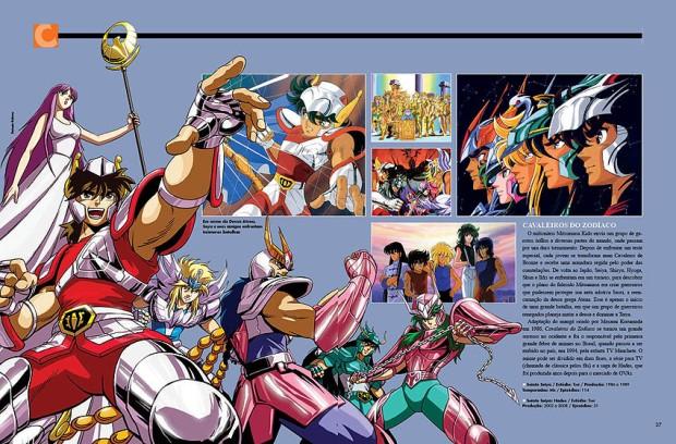 Cavaleiros dos Zodíacos , Anime , Heróis dos Animes , Editora Europa, André Morelli