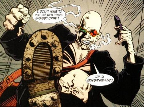 Spider Jerusalem, Transmetropolitan, Graphic Novel