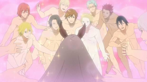 Naruto, Naruto Shippuuden, Oiroke Gyaku Haremu no Jutsu, Reverse Sexy Harem
