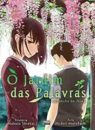 O Jardim das Palavras, Kotonoha no Niwa, Makoto Shinkai, Midori Motobashi, mangá, Editora New Pop