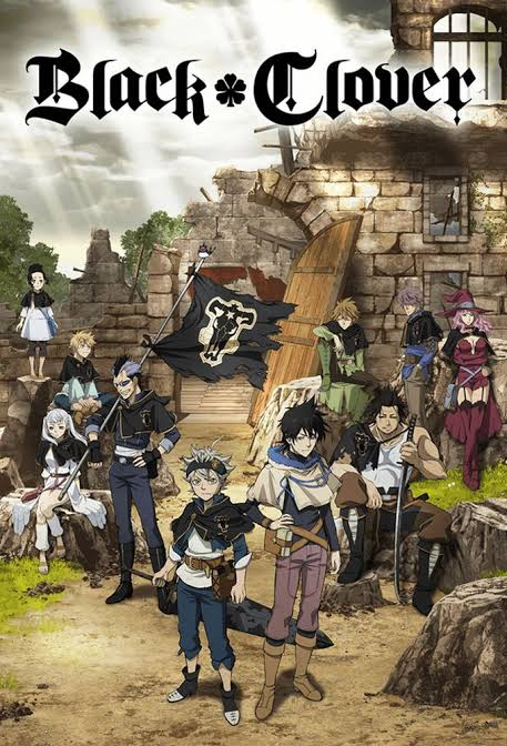 capa black clover anime
