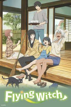 capa Flying Witch anime