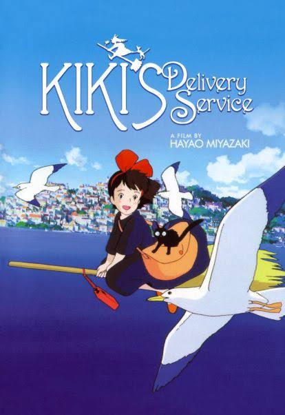 capa Kiki Delivery Service anime Studio Ghibli