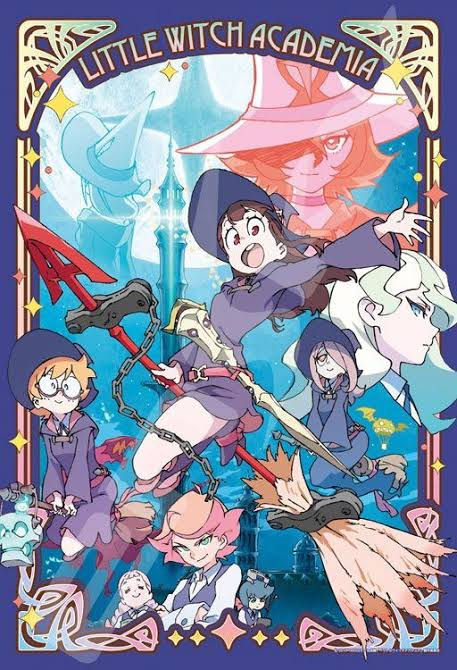 capa My little Witch Academia anime