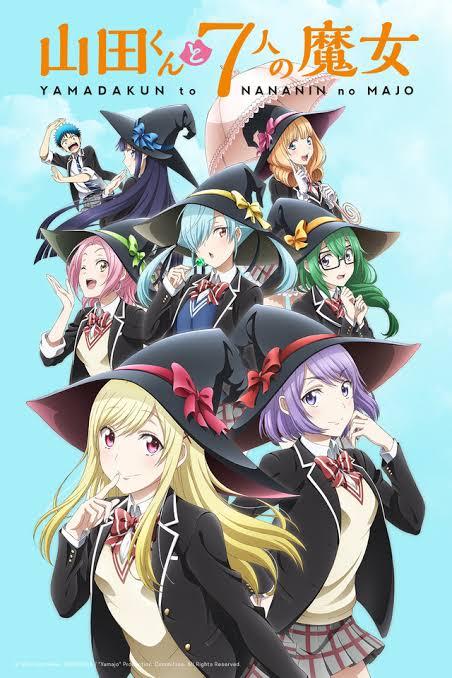 capa yamada-kun to 7-nin no Majo anime